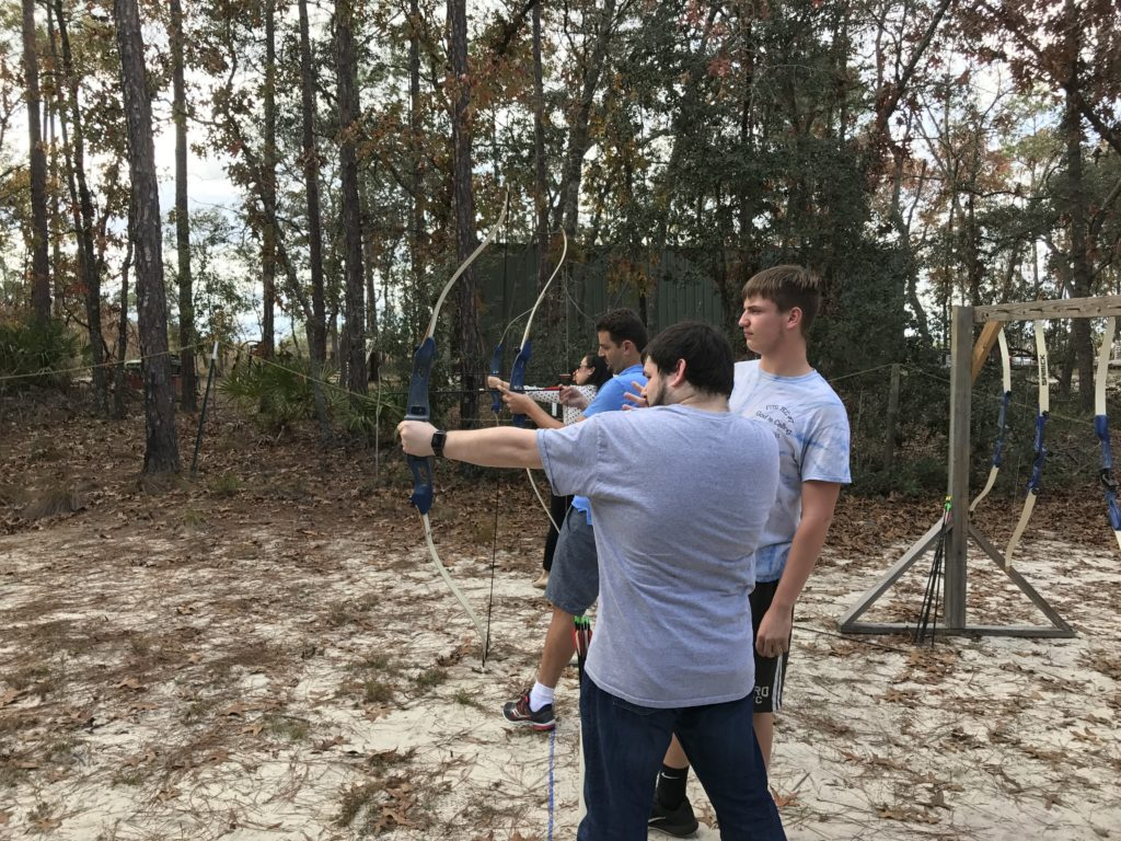 Learning Archery for The Hunger Games?